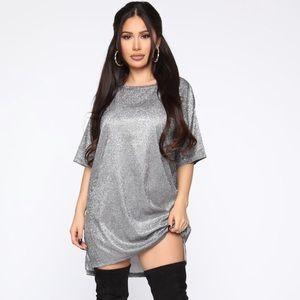 FASHION NOVA   Sparkly Dress